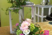 Wedding Centerpieces  / Unique wedding centerpieces by Floral Concepts in Addison, TX.