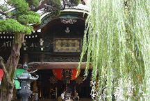 Temple Rokkaku-do / Rokkaku-do is a buddhist temple in the center of Kyoto. Its name derives from the hexagonal shape of the main building of the temple. The temple is the 18th amulet issuing site of the Saigoku pilgrimage.