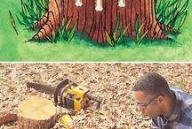 Tree stumps removel