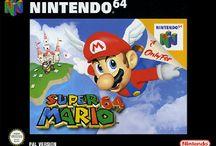 Mario box arts. / Box arts featuring Nintendo's global super star, Mario.