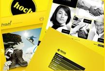 Yellow Website Design / Yellow website template designs