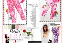 Pink Leggings / Spruce up your outfit with pink leggings.