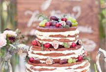 Naked cakes and sweets