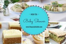 Baby Showers Food & Gift ideas