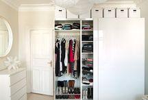 Ovanför garderoben