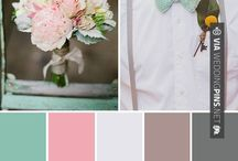 Wedding colours / Potential colour schemes for wedding