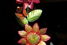 painted flower art