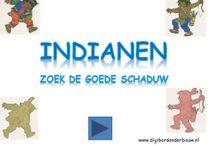 thema: indianen digibord