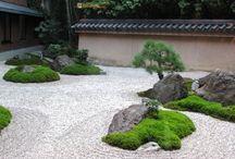 Камень в ландшафтном дизайне / Использование камня в ландшафтном дизайне. Альпийские горки, рокарии, каменистые сады, сухие ручьи.