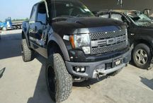 Salvage PickUp Trucks / Salvage Pickup trucks, work trucks and construction vehicles
