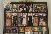 Family memories display/store