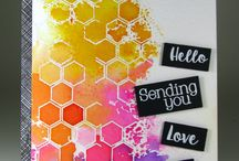 Joy Clair - Color by Faith- Bee kind / Bible journaling projects created with Joy Clair's Bee Kind Stamp set. Color by Faith Series