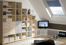 attic - mansarda / interior design for attics