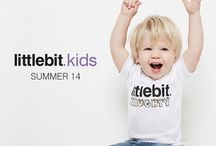 Campaign: Kids & Baby SS14 / Quality basic tees for babies and kids (2 to 6) from littlebit.com. The little ones will love wearing their littlebits.