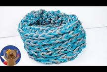 pletení a háčkování v ruce