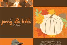 invitations/fall