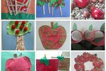 Homeschooling - Apple and Pumpkin Theme