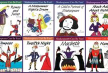 Shakespeare The Storyteller / William Shakespeare - the poet, the playwright, the man, the era, activities for children and teens, inspiration from Shakespeare for every day.