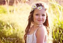 Flower Crowns & White Boho dresses