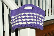 Crochet purses and handbags by Spearcraft