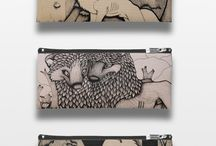 ¤Pencil Cases / Some pencil cases from my Zazzle store,  www.zazzle.com/millakahlosdesigns