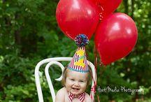 Fotos produzidas bebê aniversário