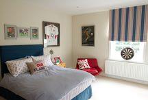 Boys bedroom design / Boys rooms needn't be boring!