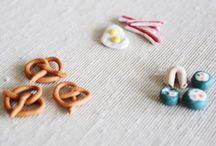 Jidlo miniatury FIMO