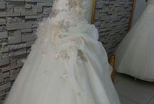 Designed by me / #Weddingdress#wedding#nightdress#hautecouture#