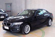 BMW 220 I COUPE' 184 CV ANNO 2015 - KM 24.000 - UNICO PROPRIETARIO - GARANZIA BMW