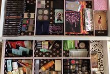 Organisation rangement make up