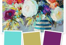 Color Palettes / by Jocelyn Triplett