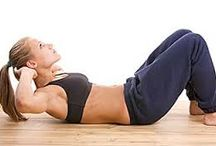 Träning / Träning för rygg och mage.