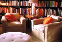 The Perfect Study/Reading/Prayer Room / This room with it's warm, relaxing, earth-tones is just so conducive to read & study the Bible in ---{whatever other book you'd enjoy reading}--- as well as enjoying your special quiet time in prayer with Father God, Yahweh.
