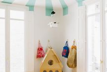 Kids room in Shul / by Ora Gross