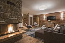 Chalet Kanzi / Large chalet apartment with 4 ensuite bedrooms, lounge, balcony, dining area and access to a shared spa.