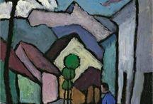 Painting - Gabriele Munter