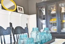 Dining room / ideas for the dining room, colors, inspiration and more