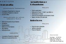 Serviços de Topografia, Arquitetura e Interiores