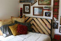 bedrooms / by Erica Gwaltney