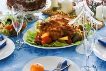 DIY Christmas decorating ideas easy – 4 festive Table Settings
