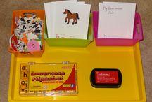 Montessori Theme trays