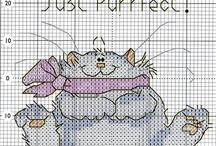 Cross Stitch - Cats
