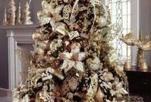 vakre juletrær