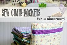 Classroom sewing