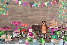 festa marsha e urso