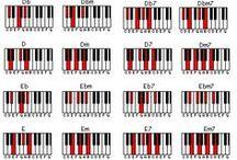 akordy a klavír