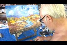 Video / How to develop an oil painting