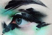 Abstract make up
