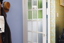 Vestibules / Updating a rowhome entryway / by Kristin Howard